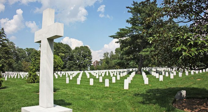 Leftist Judge Attacks Military Cemetery, Argues Memorial Crosses Unconstitutional