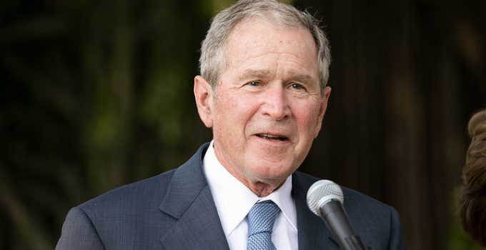 Bush: Trump 'Makes Me Look Pretty Good'