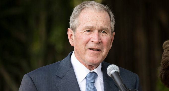 Bush: Trump 'Makes Me Look Pretty Good'