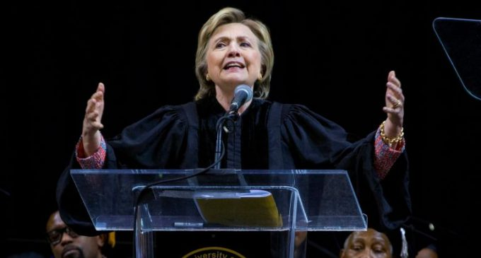 Hillary's Speaking Fees Take a Huge Nosedive