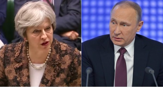 Russia Threatens Britain Over Theresa May's 24-Hour Ultimatum