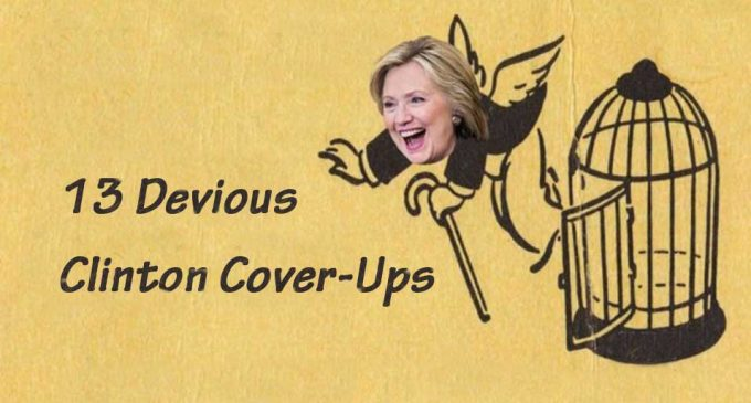 UNCOVERED: 13 Devious Clinton Cover-Ups
