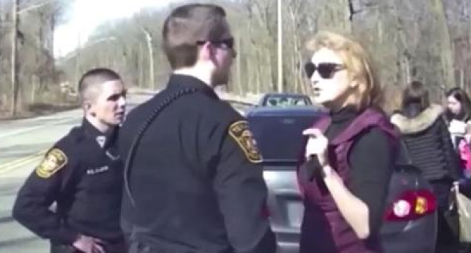 Hillary Clinton Lobbyist Curses Cops:  'You may shut the f*** up'