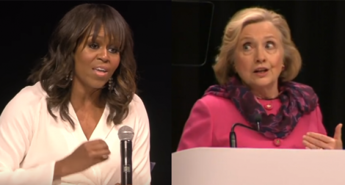 Hillary: Michelle Obama is Right, Women are to Blame for Trump Victory