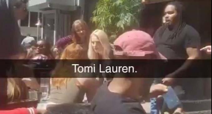 Woman Throws Drink at Fox News Pundit Tomi Lahren at Minneapolis Restaurant