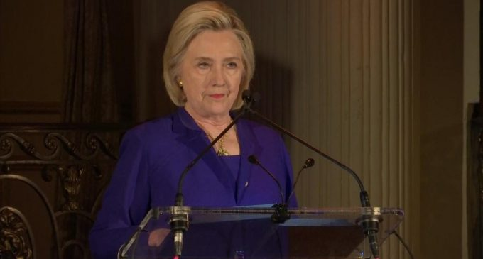 Hillary: Jesus 'Did Not Say Let the Children Suffer'