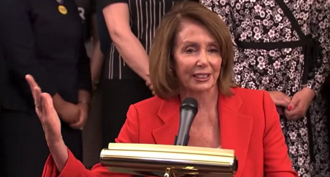 """Nancy Pelosi: """"In My District They Call Me A Corporate Pawn"""""""