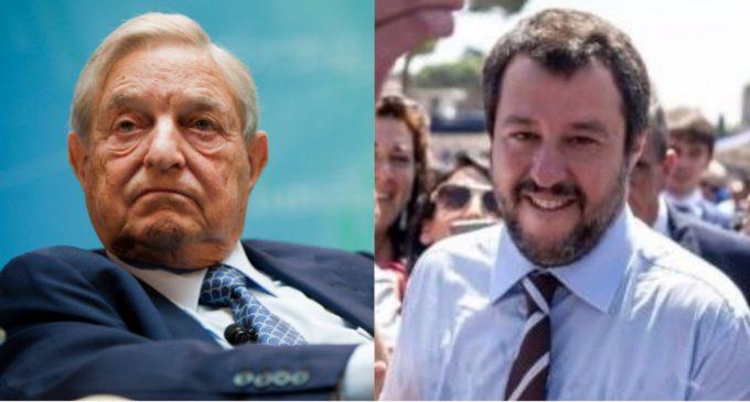 War Erupts Between George Soros, Elites and New Italian Government