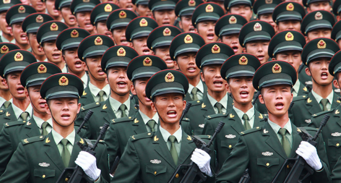 """Leaked Chinese Memo: We Must """"Win a War"""", """"Overtake the United States in Military Strength"""""""
