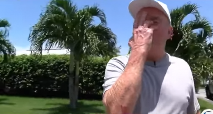 Florida Man Punched, Dragged 30 Feet by Car for Having Trump Sign in Yard