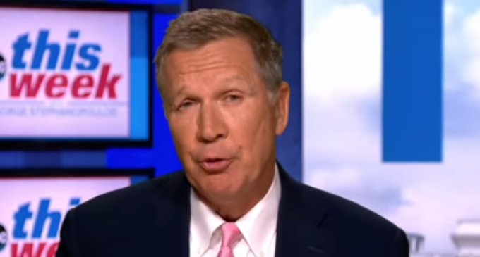 Kasich: Trump's 'Chaos' Has Really Turned Off Suburban Women