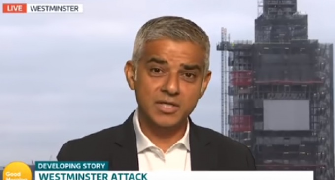 London Mayor: Ban Cars to Stop Terror Attacks