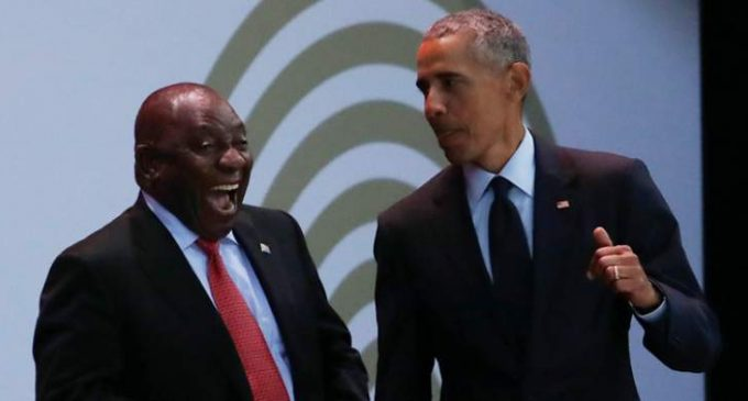Obama Praises South African President Despite Racist Land Grabs, Brutal Massacres