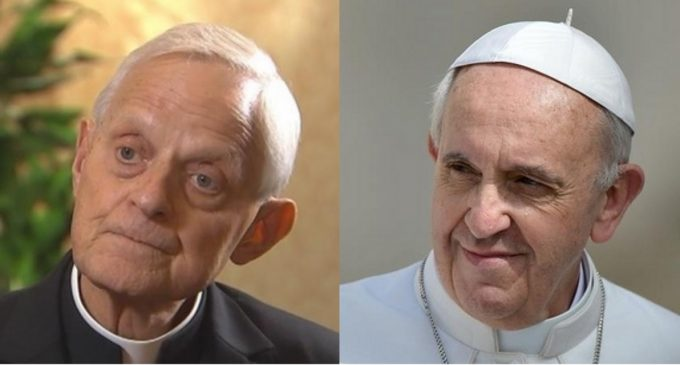 Report: Pope Francis Directed Cardinal Donald Wuerl to Vatican to Avoid US Arrest