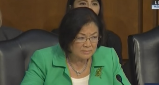 "Sen. Mazie Hirono: ""I'm Confused"" How Illegal Immigration is Illegal"