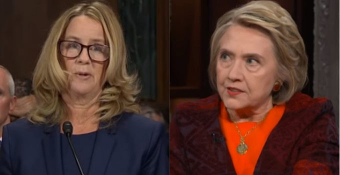 The Christine Blasey Ford, Hillary Clinton Connection
