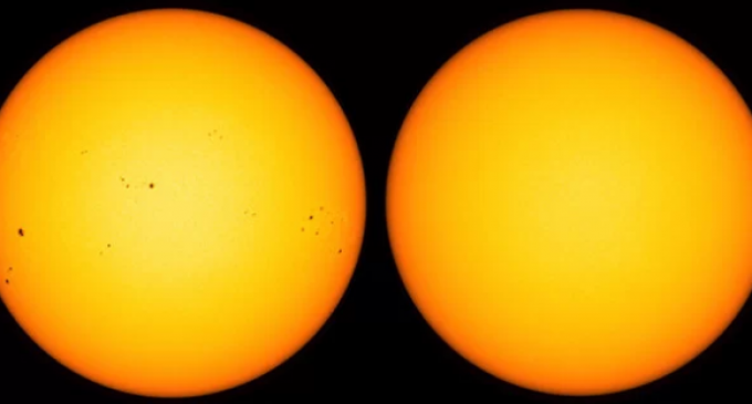 Scientists: Earth Headed for 'Big Freeze' as Sun Remains Devoid of Sunspots for Most of 2018