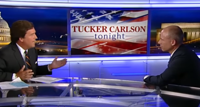 Michael Avenatti Issues Challenge to Tucker Carlson After Heated Interview
