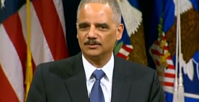 Eric Holder: The Legitimacy of the Supreme Court can Justifiably be Questioned