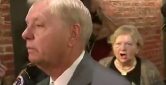 Lindsey Graham Slams Kavanaugh Protester: 'Why Don't We Dunk Him in Water and See if He Floats?'