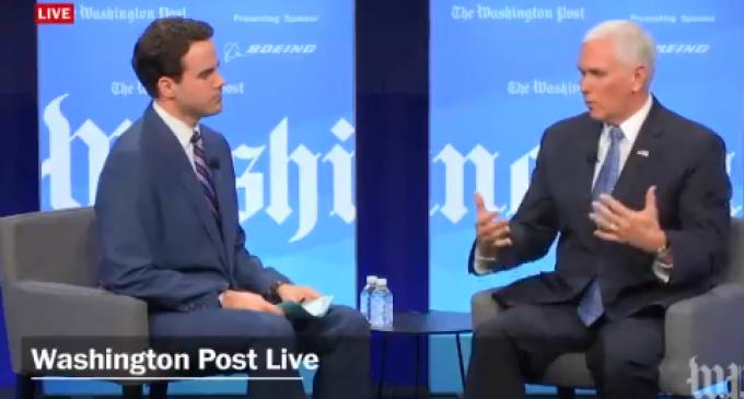 VP Pence: Honduran President Told Me Venezuela Funding Migrant Caravan
