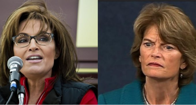 Sarah Palin to Lisa Murkowski: 'I Can See 2022 from My House'