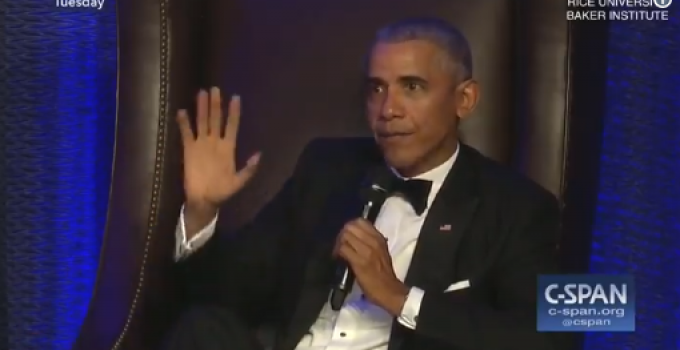 """Obama: """"Suddenly America is the Largest Oil Producer, That was Me People…Say Thank You"""""""