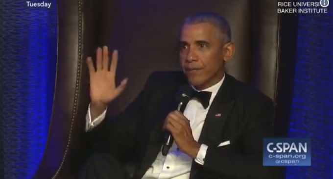 "Obama: ""Suddenly America is the Largest Oil Producer, That was Me People…Say Thank You"""