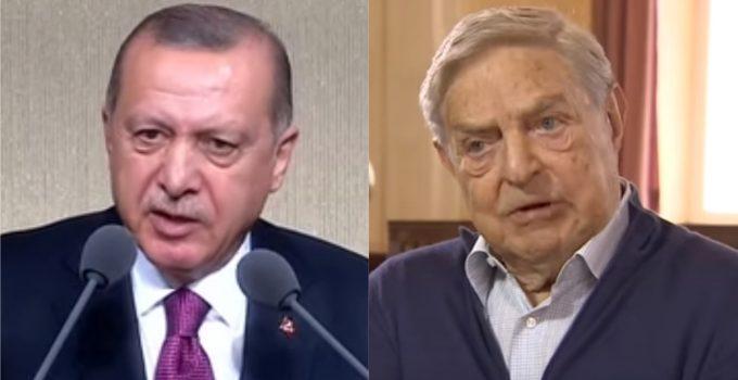 Soros Leaves Turkey After Attack by President Erdogan