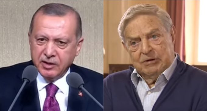 Soros Leaves Turkey After Attack by President Erdogan