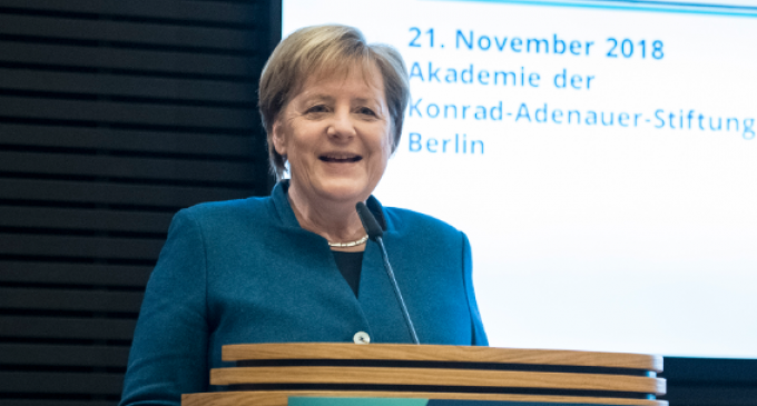 "Merkel: Nation States Must ""Give Up Sovereignty"" to the New World Order"