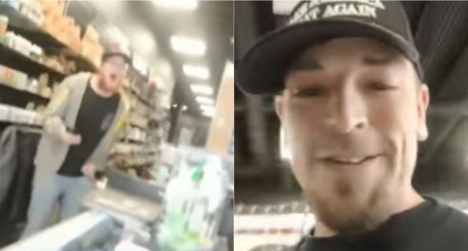 Store Clerk Goes Ballistic, Assaults Man Wearing Pro-Trump Shirt