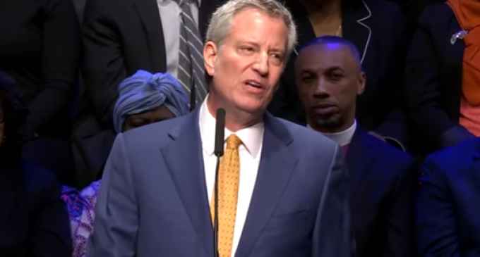 Mayor de Blasio Announces Plans to Seize Private Property