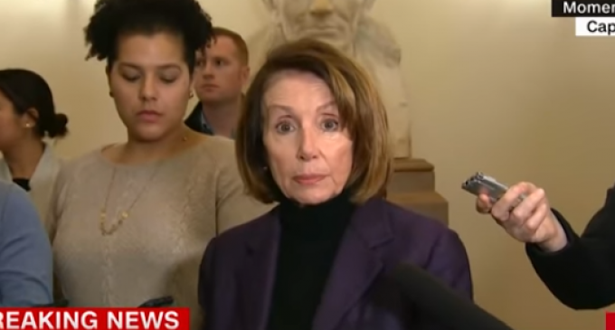 Pelosi: President Trump Leaked Our Afghanistan Commercial Flight Plans