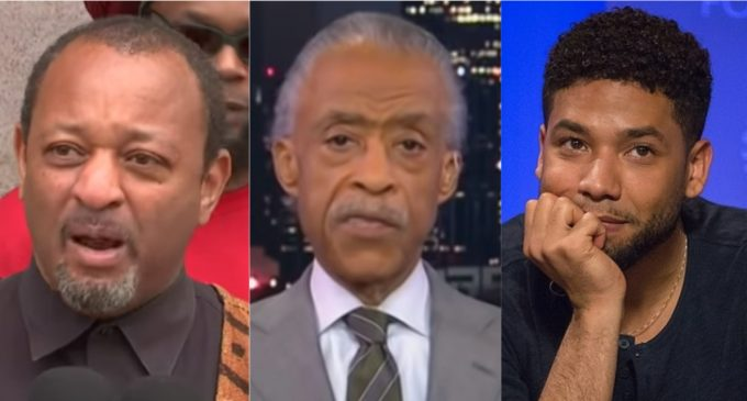 Black Civil Rights Activist Calls for Arrest of Jussie Smollet