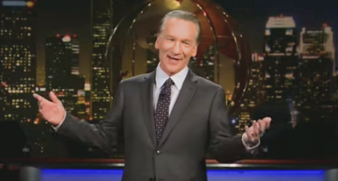 Maher: Red States Composed of Less 'Affluent and Educated' People Who 'Want to Be Us'