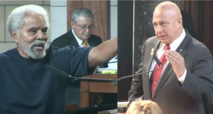 Senator Chamber Calls American Flag a 'Rag', Compares to Nazi Swastika