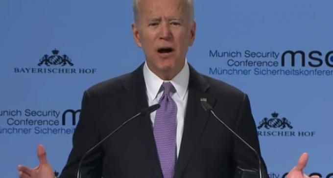 Joe Biden Tells Europe that America is an 'Embarrassment'