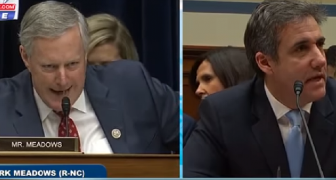 Rep. Meadows Busts Cohen Making Another False Statement to Congress