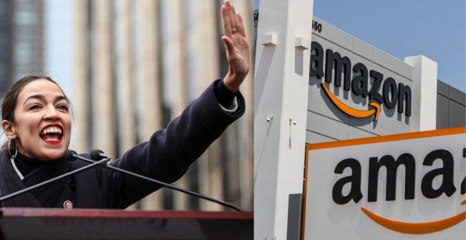 Amazon: We Canceled NYC Headquarters Because of Ocasio-Cortez