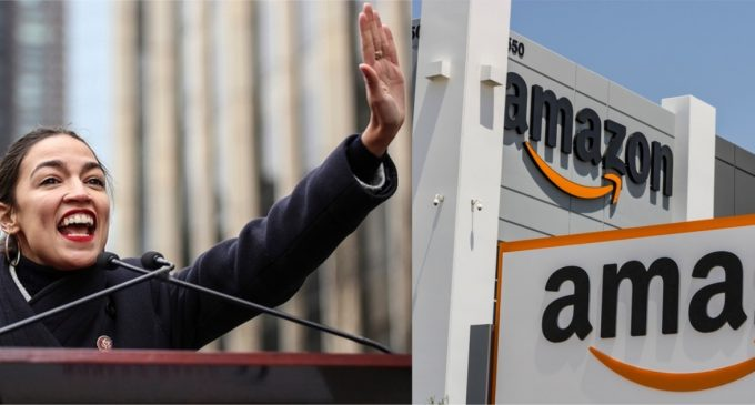 Amazon: We Canceled NYC Headquarters Because of Ocasio-Cortez