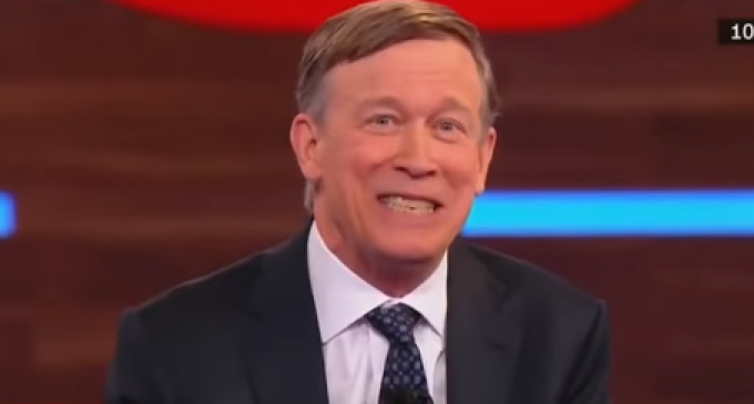 Former Gov. Hickenlooper Recounts Time He Took His Mother to 'Deep Throat'