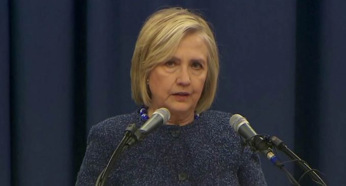 Hillary: 'Racist and White Supremacist Views Are Lifted Up' in the White House