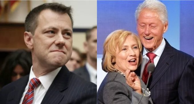 Strzok: DOJ, Clinton Lawyers Agreed to Not Investigate Clinton Foundation Emails, FBI Conceded