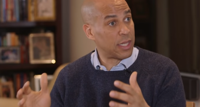 Cory Booker Introduces Bill on Slavery Reparations