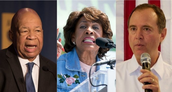 Cummings, Waters, Schiff Sign Secret MOU to 'Target', 'Attack' Trump