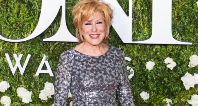 Bette Midler Joins Sex Strike in Protest of Georgia 'Heartbeat' Law
