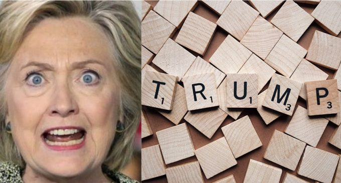 Hillary Goes After Scrabble Board Game for Using 'Trump Words'