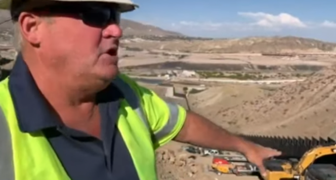 """""""We Build the Wall"""" Foreman: Military-Clad Cartel 'Probing' Project, """"Got Within 15 Feet"""" of Workers"""