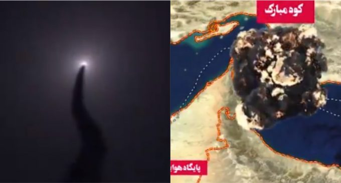 Iran Releases Video of Military Shooting Down Unmanned U.S. Drone